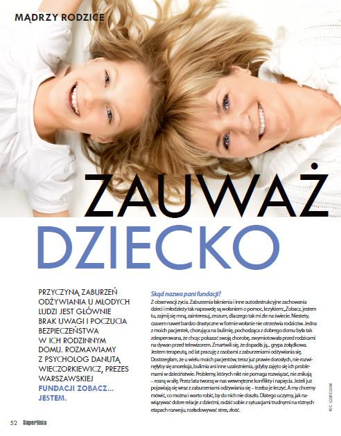 Artykuł Superlinia Zauważ Dziecko - Fundacja Zobacz... JESTEM