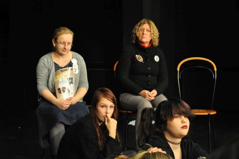 Gramy a nie cpamy, teatr nastolatki, Fundacja Zobacz JESTEM (10)
